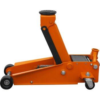 Домкрат подкатной 'OMBRA' OHT230  3 т. гаражный двухпоршневой 133-485 мм.