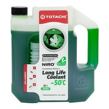 яАнтифриз Totachi NIRO -50С зеленый 2л