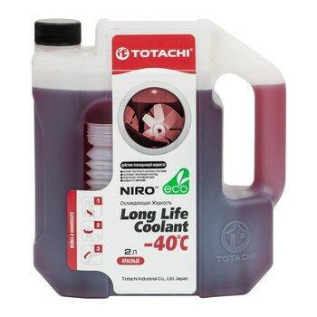 яАнтифриз Totachi NIRO -40С красный 2л