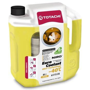 Антифриз Totachi NIRO EURO -40С 2л