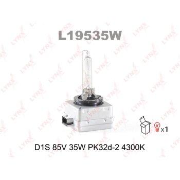 """Лампа ксеноновая """"LYNXAUTO"""" D1S 12V 35W 4300K"""