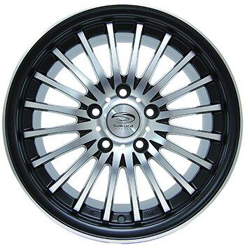Автодиск R16 Sakura Wheels 3106L 16*7J/5-100/73.1/+42 B-P/M5