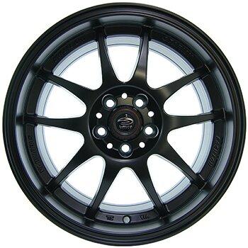 Автодиск R15 Sakura Wheels 346 15*7J/5-100/73.1/+42 BLK/M7
