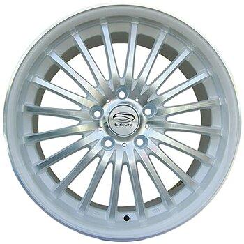 Автодиск R16 Sakura Wheels 3106L 16*7J/5-100/73.1/+42 ZW-P