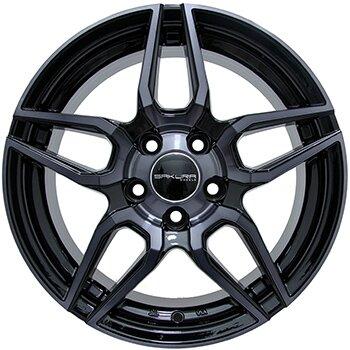Автодиск R15 Sakura Wheels 3268 15*6.5J/5-100/73.1/+40 B4B