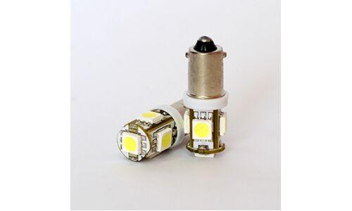 """Лампы светодиодные """"DSIGN"""" G10, 5 светодиодов, белый к-т 2 шт. XBA9-0003"""