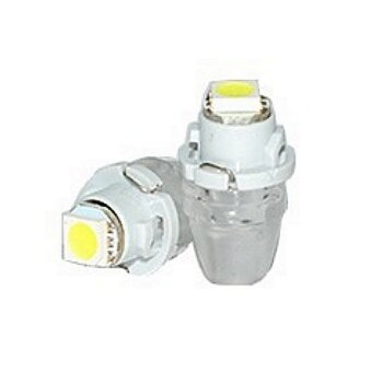 """Лампы светодиодные """"DSIGN"""" Т4,7, 1 светодиод, белый, к-т 2 шт. XT04-0002"""