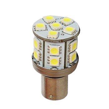 """Лампа светодиодная """"DSIGN"""" S25, 18 светодиодов, одноконтактная, белый XT25-1603"""