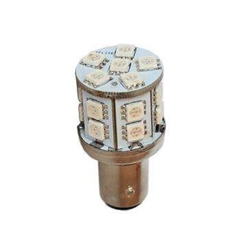 """Лампа светодиодная """"DSIGN"""" S25, 18 светодиодов, двухконтактная, красный XT25-1703R"""