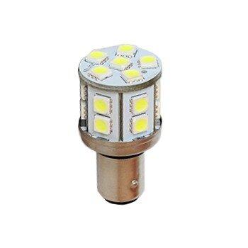 """Лампа светодиодная """"DSIGN"""" S25, 18 светодиодов, двухконтактная, белый XT25-1703W"""