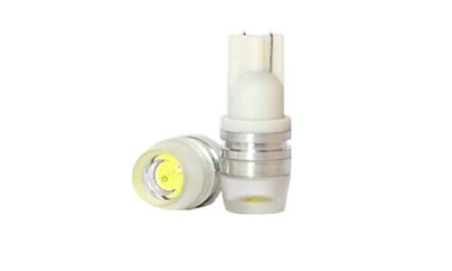 Лампы светодиодные Dsign T10, 12V, 0.2W, 6000K, 120lm, 1 светодиод, линза, 2 шт