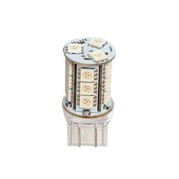 """Лампа светодиодная """"DSIGN"""" T20, 18 светодиодов, двухконтактная, красный XT20-7310R"""
