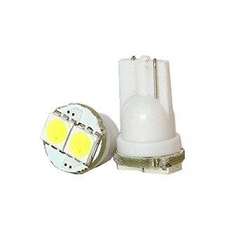 """Лампы светодиодные """"DSIGN"""" Т10, 2 светодиода, белый, к-т 2 шт. XT10-0014"""