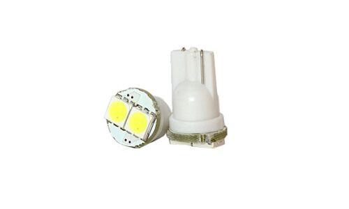 Лампы светодиодные 'DSIGN' Т10, 2 светодиода, белый, к-т 2 шт. XT10-0014