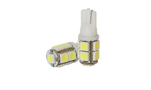 Лампы светодиодные 'DSIGN' Т10, 9 светодиодов, белый, к-т 2 шт. XT10-0008