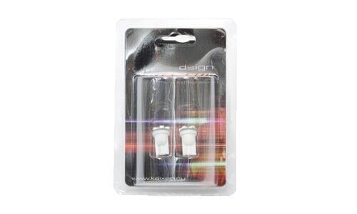 """Лампы светодиодные """"DSIGN"""" Т10, 5 светодиодов, белый, к-т 2 шт. XT10-0013"""