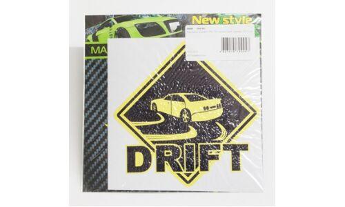"""Наклейка """"Дрифт"""" VRC 501 виниловая, размер 12*12 см"""