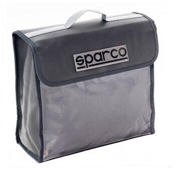 """Органайзер в багажник """"SPARCO"""", материал нейлон + ПВХ, 32х28х12,5 см., серый, 1/20"""
