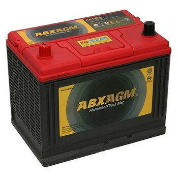 Аккумулятор Atlas S65D26R AGM, 75Ач, CCA 750А, необслуживаемый