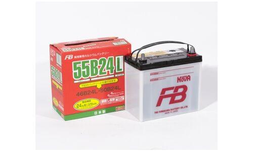 Аккумулятор FB SUPER NOVA 55B24L, 45Ач, CCA 570A, обслуживаемый
