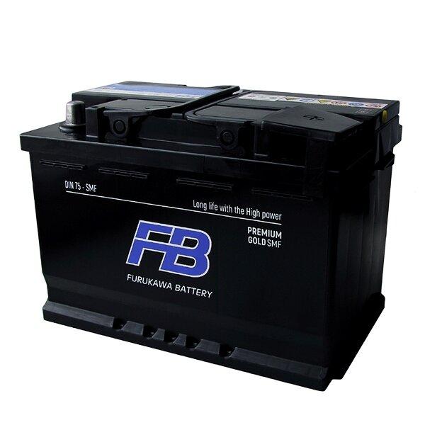 Аккумулятор FB Gold SMF DIN LN3 (DIN 75) L 75Ач 680А необслуживаемый с газоотводной трубкой.