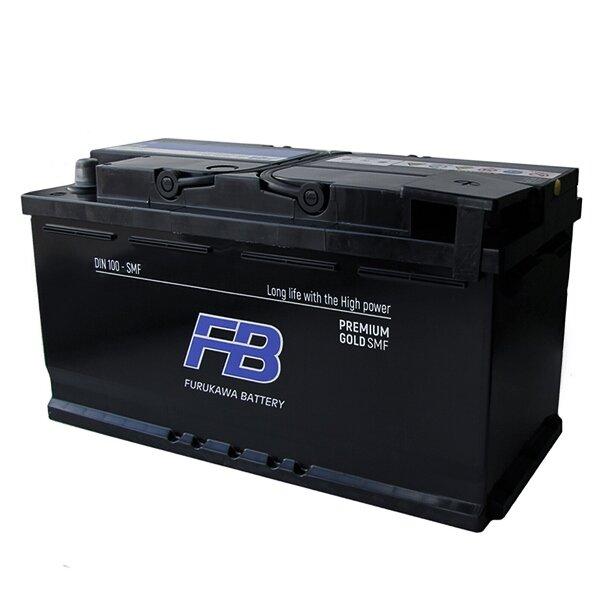Аккумулятор FB Gold SMF DIN LN5 (DIN 100) L 100Ач 850А необслуживаемый с газоотводной трубкой.