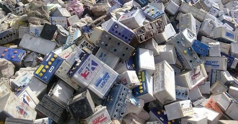 Отработанные аккумуляторы должны отправляться в переработку