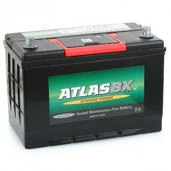 Аккумулятор Atlas 55B19L, 45Ач, CCA 400А, необслуживаемый
