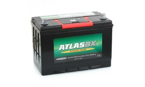 Аккумулятор Atlas 115D26L, 85Ач, CCA 750А, необслуживаемый